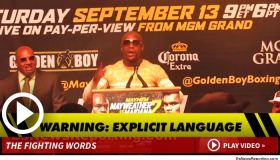Floyd Mayweather Admits Sleeping With Tiny!!! (Video)