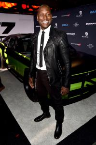 Tyrese Gibson attends Universal Pictures' 'Furious 7'