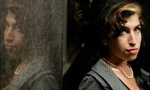 British singer Amy Winehouse is pictured