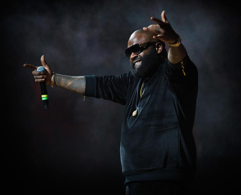 SWAC Tournament After Concert Featuring Rick Ross, Kid Ink And Zero