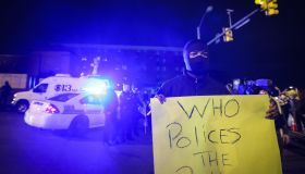 Demonstration in Baltimore over death of Freddie Gray