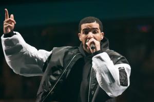 Drake Performs At O2 Arena In London