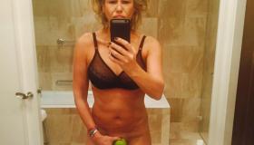 Chelsea Handler With Apple
