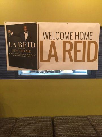 LA Reid Meet And Greet