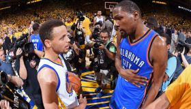 Oklahoma City Thunder v Golden State Warriors - Game Seven