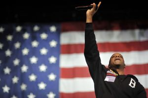 Jay-Z Performs At Obama Campaign Event In Ohio