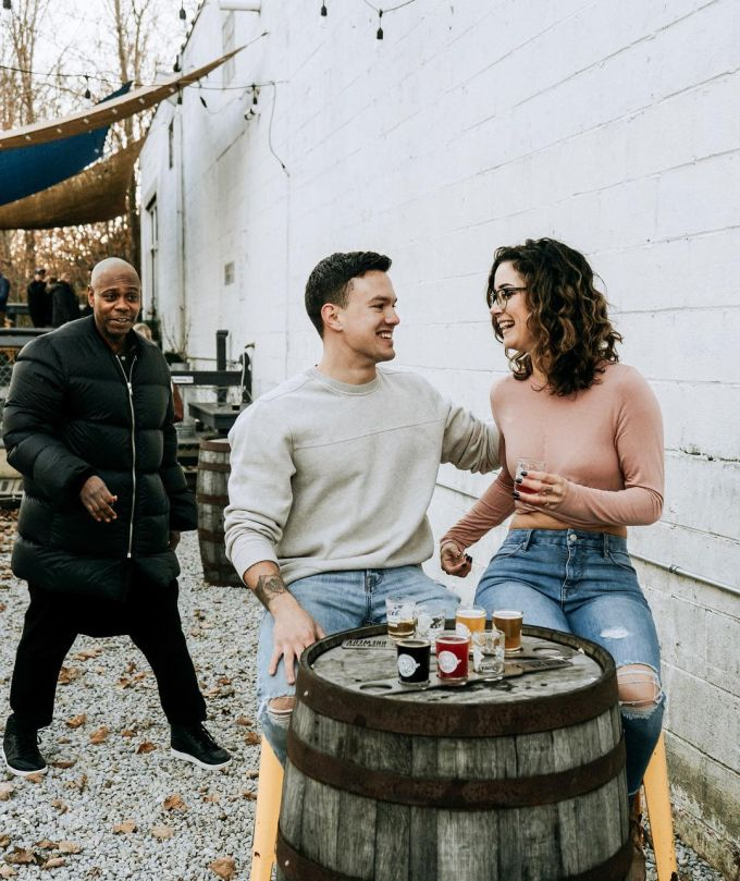 Dave Chappelle Ohio Engagement Photos