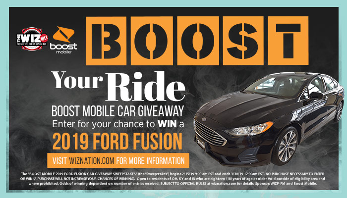 Boost Your Ride Giveaway