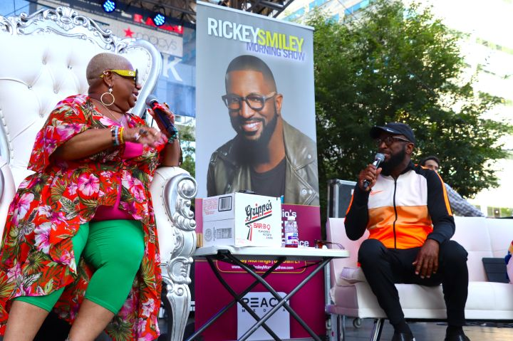 The Rickey Smiley Morning Show Live From Fountain Square