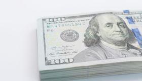 Big amount of US dollar.