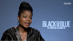 "Naomie Harris stars in ""Black And Blue"""