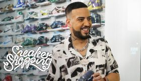 French Montana Sneaker Shopping