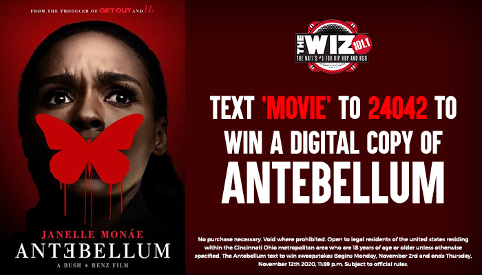 Antebellum Text to Win WIZF