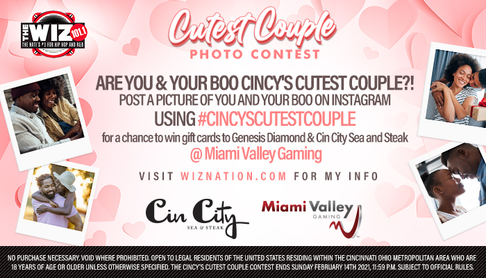 Local: Cincy's Cutest Couple_RD Cincinnati WIZF_January 2021