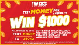 WIZF SMS Cash Contest