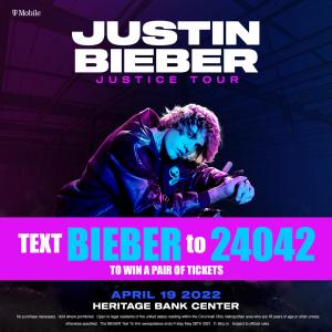 Justin Bieber Contest Graphic WIZF