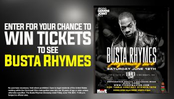 BUSTA RHYMES Register To Win Sweepstakes