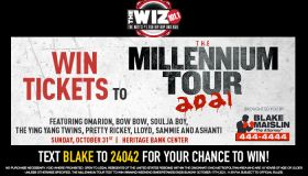 Millennium Tour Ticket Giveaway WIZF